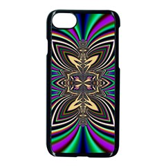 Abstract Artwork Fractal Background Art Iphone 8 Seamless Case (black)