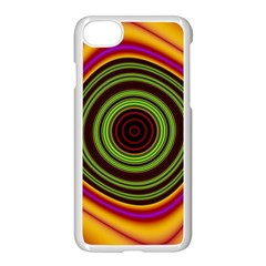 Digital Art Background Yellow Red Iphone 8 Seamless Case (white)
