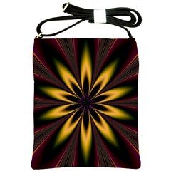 Fractal Artwork Idea Allegory Art Pattern Shoulder Sling Bag