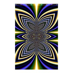 Abstract Artwork Fractal Background Shower Curtain 48  X 72  (small)