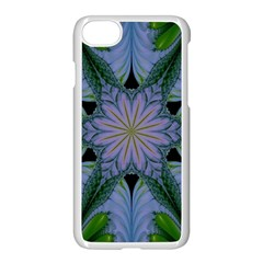 Abstract Flower Artwork Art Green Iphone 8 Seamless Case (white) by Sudhe