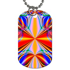 Abstract Art Fractal Art Dog Tag (two Sides)