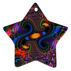 Abstract Fractal Artwork Colorful Ornament (star)