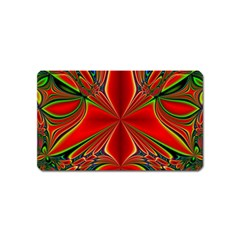 Abstract Abstract Art Fractal Magnet (name Card)