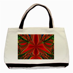 Abstract Abstract Art Fractal Basic Tote Bag (two Sides) by Sudhe