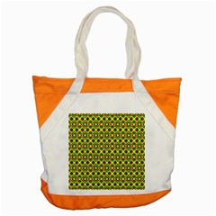 Background Pattern Geometrical Accent Tote Bag