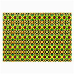 Background Pattern Geometrical Large Glasses Cloth (2 Sides) by Sudhe
