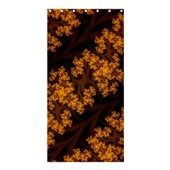 Abstract Fractal Pattern Artwork Flora Shower Curtain 36  X 72  (stall)  by Sudhe