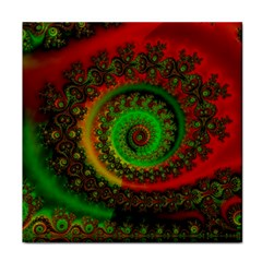 Abstract Fractal Pattern Artwork Art Face Towel by Sudhe