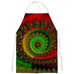 Abstract Fractal Pattern Artwork Art Full Print Aprons by Sudhe
