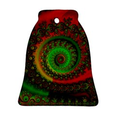 Abstract Fractal Pattern Artwork Art Ornament (bell) by Sudhe