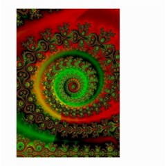 Abstract Fractal Pattern Artwork Art Small Garden Flag (two Sides) by Sudhe