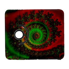Abstract Fractal Pattern Artwork Art Samsung Galaxy S  Iii Flip 360 Case by Sudhe