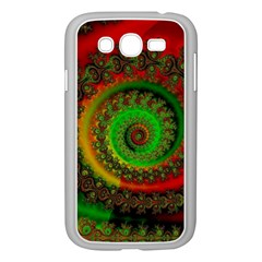Abstract Fractal Pattern Artwork Art Samsung Galaxy Grand Duos I9082 Case (white) by Sudhe
