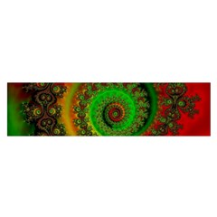 Abstract Fractal Pattern Artwork Art Satin Scarf (oblong) by Sudhe