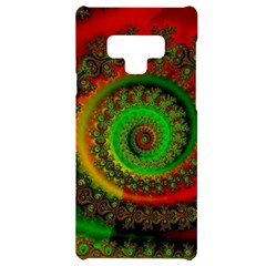 Abstract Fractal Pattern Artwork Art Samsung Note 9 Black Uv Print Case  by Sudhe