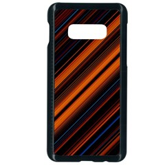 Background Pattern Lines Samsung Galaxy S10e Seamless Case (black)