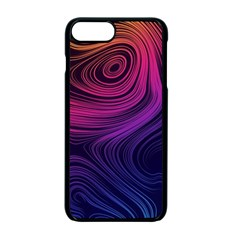 Abstract Pattern Art Iphone 7 Plus Seamless Case (black)