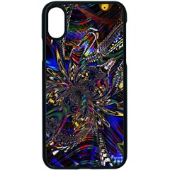 Art Design Colors Fantasy Abstract Iphone Xs Seamless Case (black)