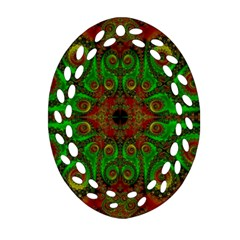 Abstract Fractal Pattern Artwork Pattern Ornament (oval Filigree)