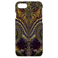 Abstract Fractal Pattern Artwork Iphone 7/8 Black Uv Print Case