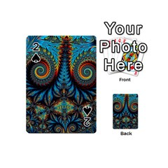 Abstract Art Fractal Creative Playing Cards 54 Designs (mini)