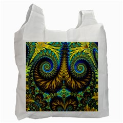 Abstract Art Fractal Creative Recycle Bag (one Side) by Sudhe