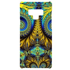 Abstract Art Fractal Creative Samsung Note 9 Black Uv Print Case  by Sudhe