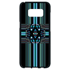 Cross Art Fractal Samsung Galaxy S8 Black Seamless Case