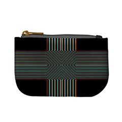 Cross Abstract Mini Coin Purse