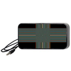 Cross Abstract Portable Speaker