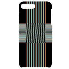 Cross Abstract Iphone 7/8 Plus Black Uv Print Case by Pakrebo