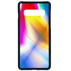 Color Concept Colors Colorful Samsung Galaxy S10 Seamless Case(black)