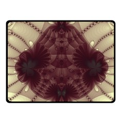 Abstract Art Artwork Fractal Fleece Blanket (small) by Pakrebo
