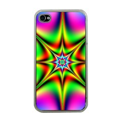 Abstract Art Artwork Fractal Iphone 4 Case (clear) by Pakrebo