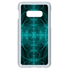 Abstract Art Design Digital Art Samsung Galaxy S10e Seamless Case (white) by Pakrebo