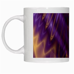 Abstract Art Artwork Fractal Design White Mugs