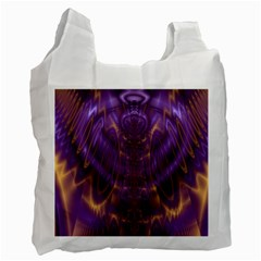 Abstract Art Artwork Fractal Design Recycle Bag (two Side)