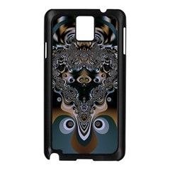 Fractal Art Artwork Design  Art Samsung Galaxy Note 3 N9005 Case (black)