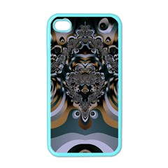 Fractal Art Artwork Design Iphone 4 Case (color) by Pakrebo