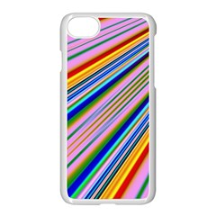 Background Colors Colorful Design Iphone 8 Seamless Case (white)