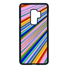 Background Colors Colorful Design Samsung Galaxy S9 Plus Seamless Case(black)