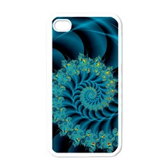 Art Artwork Fractal Digital Art Iphone 4 Case (white) by Pakrebo