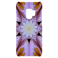 Abstract Flower Artwork Art Samsung S9 Black Uv Print Case by Pakrebo