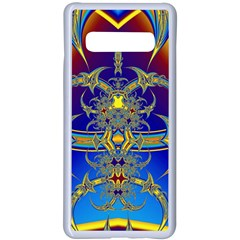 Abstract Art Design Digital Art Samsung Galaxy S10 Plus Seamless Case(white) by Pakrebo