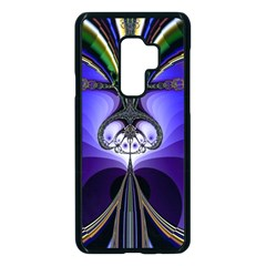 Abstract Art Artwork Fractal Design Pattern Samsung Galaxy S9 Plus Seamless Case(black) by Pakrebo