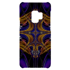 Abstract Art Artwork Fractal Samsung S9 Black Uv Print Case by Pakrebo