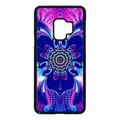 Artwork Art Fractal Flower Design Samsung Galaxy S9 Seamless Case(black) by Pakrebo