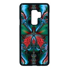 Abstract Art Fractal Artwork Samsung Galaxy S9 Plus Seamless Case(black)