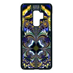 Abstract Art Artwork Fractal Design Samsung Galaxy S9 Plus Seamless Case(black)